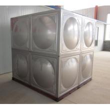 Réservoir d'eau sectionnel en acier inoxydable