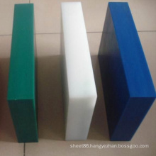 Corrosion Resistance Green White Blue PE Plastic Sheet / Board