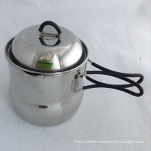 Goodlooking 304 Stainless Steel Camping Pot