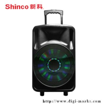 Wholesale Wireless Bluetooth Trolley Active Speaker for Karaoke