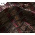 Jacquard-Gewebe-Chenille-Quadrat-dunklere Farben Sofa-Tuch 2016