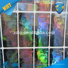 Genuine Electronics VOID Custom Schlauchfaden versiegelt holographischen Aufkleber / Etikett