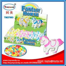 Plastic Wind up Fantastisches Pferd Spielzeug mit Süßigkeiten