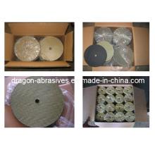 Renforts de fibre de verre pour plaque d'abrasif et disque