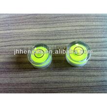 Dia15mm*8mm , Round level vial,High transparent levle vial