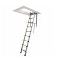 single straight telescopic attic ladder