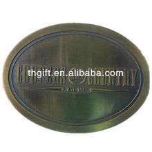 Kundenspezifische Metallgürtelschnalle mit antiker Beschichtung