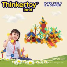 Los niños pequeños profesionales de plástico construcción de ladrillos de construcción de juguete