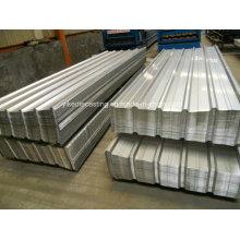 Zinc Aluminum Coated Metal Roof Corrugated Sheet