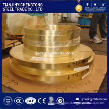 tiras de cobre 1 polegada C4250 Preço de Bobina de Fornecedor de Tira De Bronze Por Kg