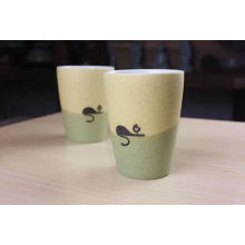14 унций Белый керамический фарфор Кофейная чашка для домашнего использования