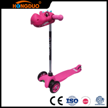 Skillful manufacture kids three wheels mini stand up foot kick scooter