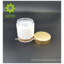 100g sleeping mask container facial cream glass jar empty glass bottle with gold lid