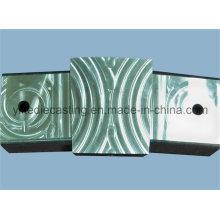 Mecanizado de aluminio modificado para requisitos particulares del CNC de la pieza de torneado