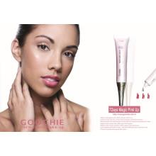 Healthy Waterproof Lip Gloss/Stick /Lip Brillant 7 Days Pink Magic Lip Gloss (ZX-045)