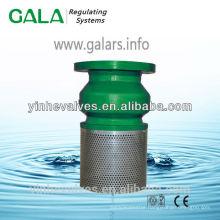 cast iron foot valve