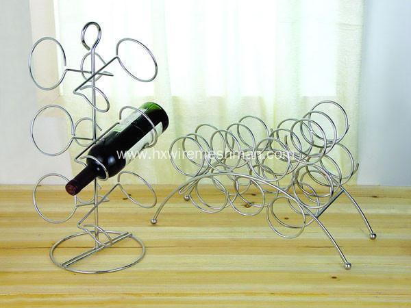 Supermarket Wire Rack Wine Holder
