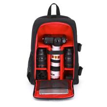 New design black canvas multifunction dslr camera backpack bag