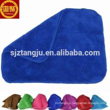 China fábrica coral velo toalha de rosto micro panos de limpeza de panos de fibra