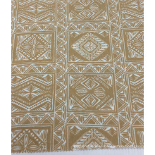 Lino de algodón mezclar ropa impresa / Home Textiles tela impresión