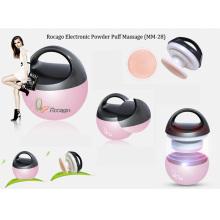 Massager facial eletrônico da máquina da beleza do sopro de pó