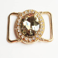 Gold Tone Diamante Buckles for Lady Shoes