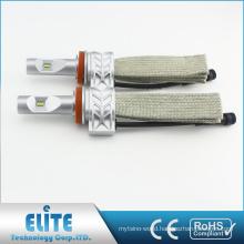 5S LED Headlight Kit 9012 4000LM 6500K Fanless PHI ZES CSP Single Beam Super White Driving Headlamp Bulb