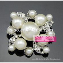 Neue frash diamond pearl brooch