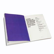Softcover Full Color Customized Brochure Printing