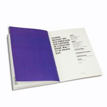 Impressão de folhetos personalizados personalizados para impressão em tela cheia