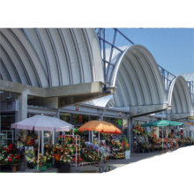 Sanxing K Q span arch roof forming machine/roofing sheet bending machine
