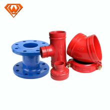 china ductile iron pipe fittings
