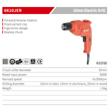 Portable High Torque Electric Tools Mini Impact Drill