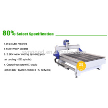 Wooddoor Making CNC Router Cutting 1.3 * 2.5m - Woodwoking CNC Router Machine Price