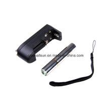 LED CREE Birnen-Edelstein-Prüfung-Taschenlampe mit Li-Ionbatterie
