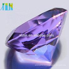 Jóias De Diamante De Vidro De Cristal 80mm Para Presentes De Casamento Indiano Para Os Hóspedes