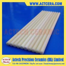 99.5% pureza alta alúmina cerámica barra/eje sólido