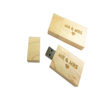 Holz USB 2.0 Flash Drive Memory Stick