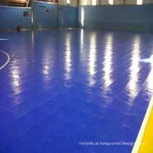 2017 Novo Produto com Alta Qualidade Indoor PVC / PP Interlock Floor para o Futebol / Tribunal de Futsal