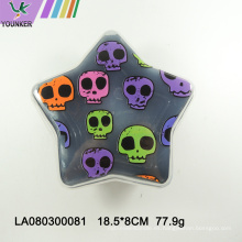 Caja de almacenamiento multifuncional de postre de pastel de Halloween