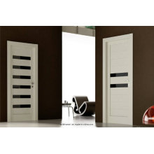 Modern Elegant Style Brown Glass Combined Interior Doors Prices