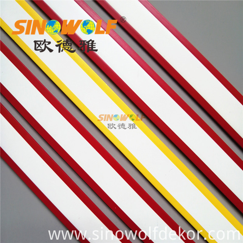 Double Color Pvc Edge Banding