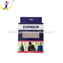 Emballage au détail suspendu de vente au détail imprimé à vendre Emballage au détail de boîte pour emballage unique de boîte de papier