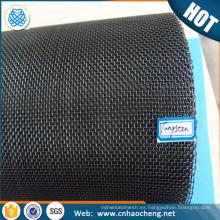 Elemento calefactor de malla de tungsteno tejido malla de vacío