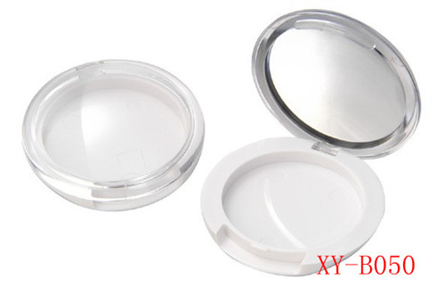 Transpent Empty Compact Powder Container