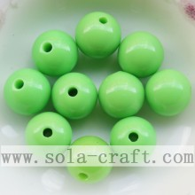 Jewelry Smooth Round Acrylic Decoration Beads