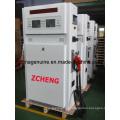 Panel lateral redondo de dispensador de combustible