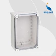 Прозрачная пластиковая распределительная коробка для кабеля 280 * 190 * 130мм