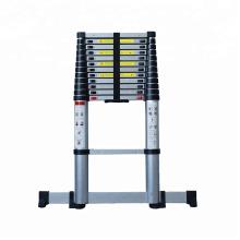 Échelle à extension repliable en aluminium à 3 niveaux et échelle à cadre EN131-6
