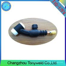 Cabeça flexível WP-17FV com válvula tocha de solda TIG